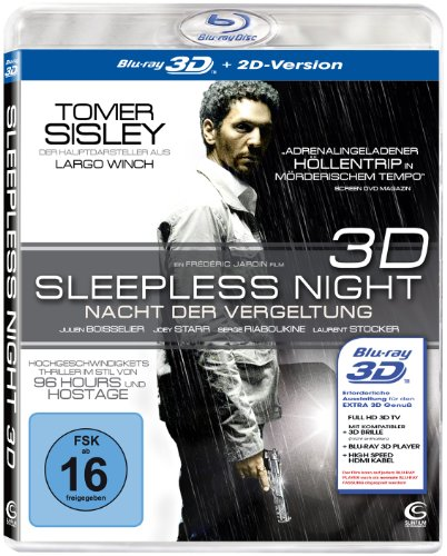 Sleepless Night - Nacht der Vergeltung [3D Blu-ray + 2D Version]