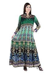 Women's Stitched Rakhi Special Viscose Georgette Dress (Size 44)