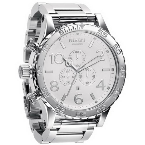 Nixon 51-30 Chrono Silver-White Watch