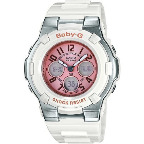 Casio BGA-110-7B2ER Ladies Baby-G Rubber Strap Watch