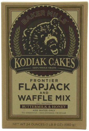 Kodiak Cakes Butter Milk and Honey Flapjack and Waffle Mix, 24-Ounce (Pack of 3)