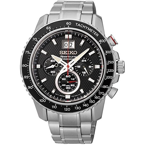 Seiko Spc137P1 Sportura Chronograph Mens Watch