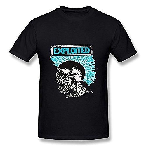 Men's Beat The Bastards The Exploited T Shirt Black