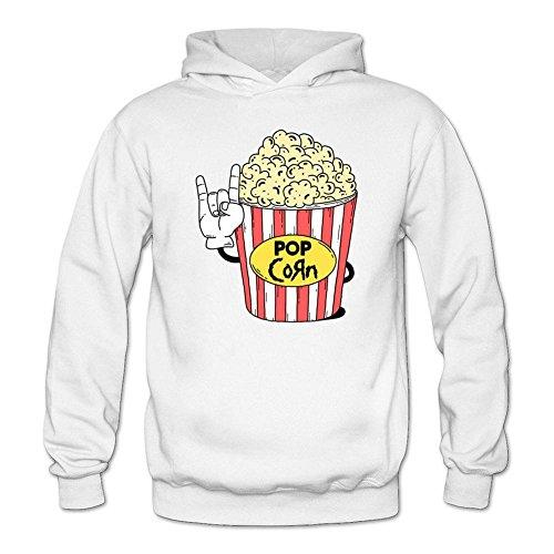 Sungboys Women's Popcorn Long Sweatshirts Hoodie (Hobbit Popcorn compare prices)