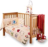 Clair de Lune ABC Cot/ Cot Bed Quilt and Bumper Set (2 Pieces)