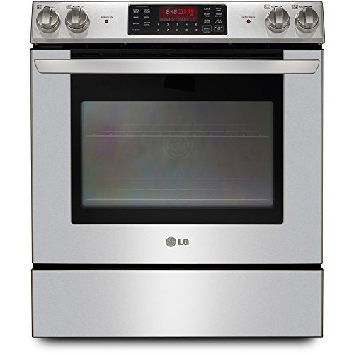 Best Slide In Ranges Electric ~ Lg lse st quot stainless steel smoothtop electric slide
