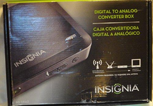Insignia Ns-Dxa2 Digital To Analog Tv Tuner Converter Box