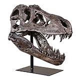 Tyrannosaurus Rex Head Sculpture | Dinosaur D?cor