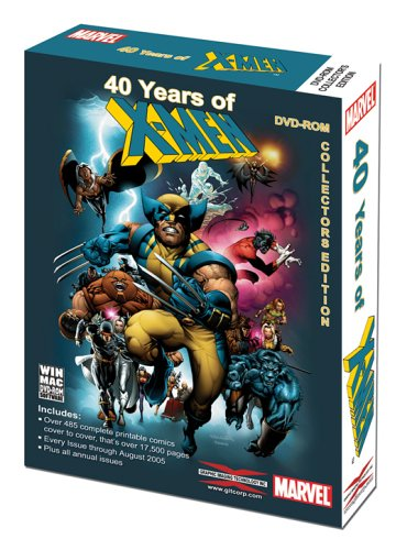 40 Years of X-Men: The Complete Collection (Book Collection Software compare prices)
