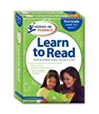 img - for Hooked on Phonics Learn to Read, First Grade, Levels 1 & 2 (Quick Start Guide, Sticker(s), Workbook, DVD, and Paperback) book / textbook / text book