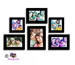 Painting Mantra Classy Memory Wall photo frame - Set of 6 individual photo frame