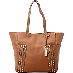 Vince Camuto Julle Tote, Mocha Bisque, One Size