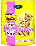 Go-Cat Crunchy and Tender Kitten Dry Cat Food 800 g (Pack of 4)