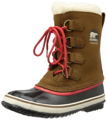 Sorel 1964 PAC 2,Stivali da neve con caldo rivestimento interno Donna, colore marrone (grizzly bear 242), taglia 43