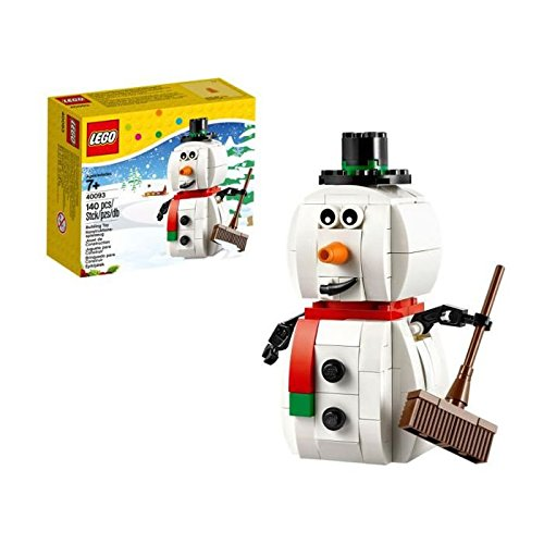 lego 40093 christmas snowman building toy christmas toy lego seasonal boys girls ebay. Black Bedroom Furniture Sets. Home Design Ideas