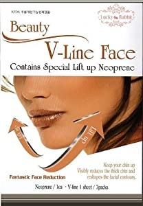 Beauty V-Line Face Facial Skin Double Chin Lifting up reduces the thick chin