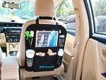 Car organiser with clear tablet pocke...