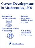img - for Current Developments in Mathematics, 2001 book / textbook / text book
