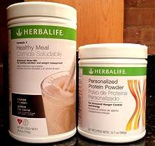 buy Herbalife Formula1 Nutritional Shake + Personalized Protein Powder (Cookies 'N Cream)