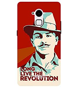 Chiraiyaa Designer Printed Premium Back Cover Case for Coolpad Note 3 Plus (bhagat singh real hero) (Multicolor)