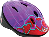 Bell Kids Bellino Helmet - Coloured Block Hearts, Medium/Large