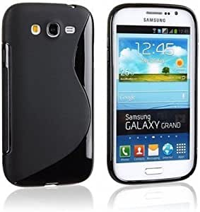 S Line Silicon Back Cover FOR Samsung Galaxy Grand Quattro I8552 (PACK OF 2)