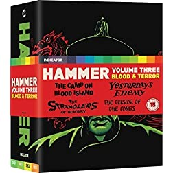Hammer: Volume 3: Blood & Terror [Blu-ray]