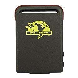 Newtronics Smallest Realtime Spy Mini Waterproof System Tri-band Personal Car GPS Tracker TK102 with TF Slot