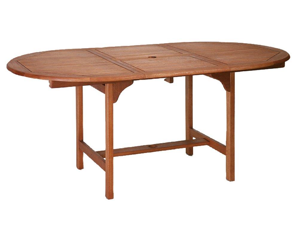 Nassau Ausziehtisch 100/ 120 x 170 cm, Eukalyptus FSC 100% günstig kaufen