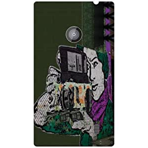 Nokia Lumia 520 - Click Matte Finish Phone Cover