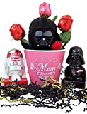 The Dark Side Mother's Day Gift Basket with Darth Vader Plush and Candy Dispensers