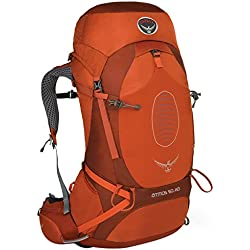 Osprey Men's Atmos 50 AG Backpacks - Cinnabar Red