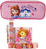 Disney Princess Sofia Pencil Case with Stationery Set - Pink