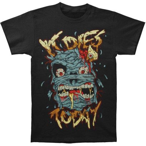 It Dies Today Men'S Mummy T-Shirt X-Large Black