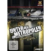 Unter den Metropolen - Cities of the Underworld, Die komplette Staffel 1 [4 DVDs]