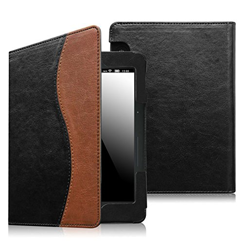 fintie-folio-case-for-kindle-voyage-premium-pu-leather-book-style-case-cover-with-auto-sleep-wake-wi