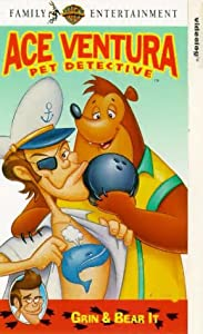 Ace Ventura Pet Detective Grin And Bear It Vhs Michael
