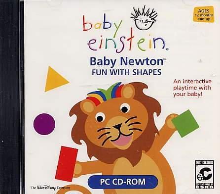 Baby Einstein: Baby Newton: Fun with Shapes (Jewel Case)
