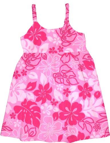 Rjc Girls Monstera Garden Bungee Dress 2Pc Set Soft Pink 18 Months
