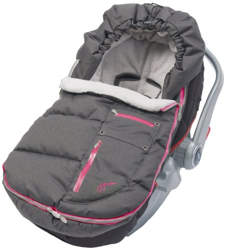 Jj Cole Bundleme Arctic Weather Resistant, Charcoal Sassy, Infant