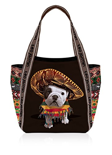 TEO JASMIN - Teo jasmin grand sac cabas Teo Mexican noir