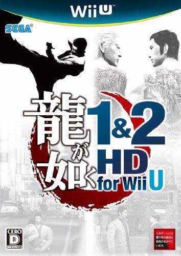 【ゲーム 買取】龍が如く1&2 HD for Wii U