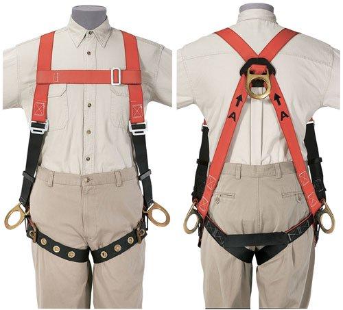 Klein 87145 Klein-Lite Fall-Arrest/Positioning Harness, Universal Size