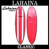 サーフボード ラハイナ / LAHAINA CLASSIC 7'1 オルタナティブボード ミッドレングス 赤 ファンボード