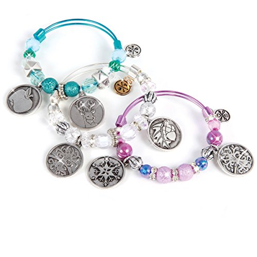 Seasons Silver Collection Collectible Interactive Bracelets by Charmazing (921)