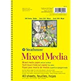 Strathmore 362500 90-Pound 40-Sheet Mixed Media Vellum Paper Pad, 5.5 by 8.5-Inch
