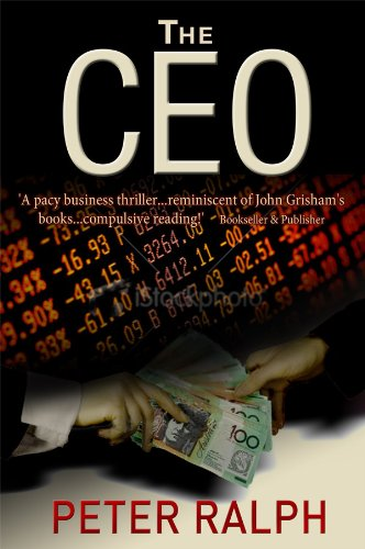 Book: The CEO - White Collar Crime Finance Suspense Thriller by Peter Ralph