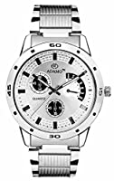 Adamo analog White Dial Men's Watch (AD109)