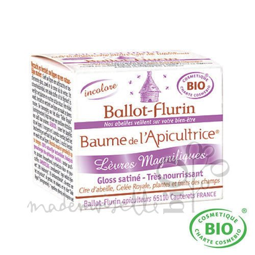 Ballot Flurin Baume Apicultrice Lèvres 15 ml