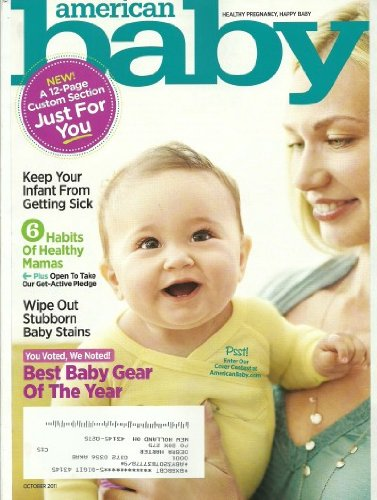 American Baby Magazine October 2011 Best Baby Gear Of The Year